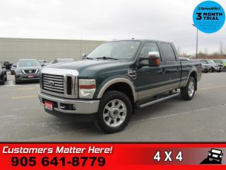 Used 2010 Ford F-250 Super Duty Lariat  4WD CREW-CAB LARIAT for sale in St. Catharines, ON