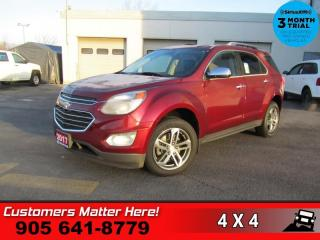 Used 2017 Chevrolet Equinox Premier  AWD PREMIER P/GATE LEATH for sale in St. Catharines, ON