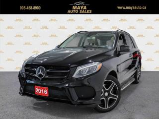 Used 2016 Mercedes-Benz GLE450 AMG 4 MATIC AMG Black, extra clean, no accidents for sale in Brampton, ON