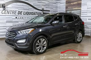 Used 2015 Hyundai Santa Fe Sport Limited+gps+AWD+CUIR+TOIT for sale in Montréal, QC