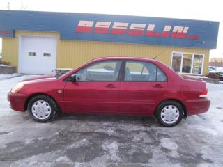 Used 2004 Mitsubishi Lancer ES for sale in Quebec, QC
