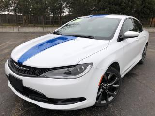 Used 2015 Chrysler 200 S 2WD for sale in Cayuga, ON