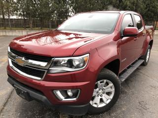 Used 2017 Chevrolet Colorado LT Crew Cab 4X4 for sale in Cayuga, ON