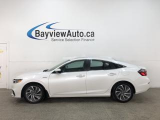 Used 2019 Honda Insight Touring - HYBRID! NAV! SUNROOF! HTD LEATHER! 50 MPG! for sale in Belleville, ON