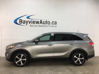 Used 2016 Kia Sorento 2.0L EX - 2.0L TURBO! LEATHER! AWD! for sale in Belleville, ON