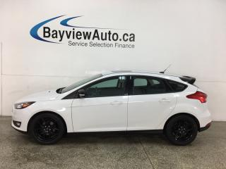 Used 2018 Ford Focus SEL - AUTO! NAV! SUNROOF! BLK WHEELS! ONLY 6000KMS! for sale in Belleville, ON
