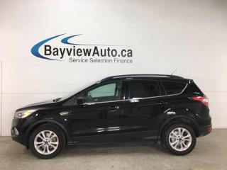 Used 2017 Ford Escape - 4WD! NAV! HTD SEATS! ALLOYS! FULL PWR GROUP! for sale in Belleville, ON