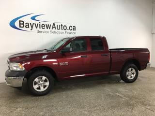 Used 2018 RAM 1500 ST - 4X4! HEMI! HITCH! FULL PWR GROUP! for sale in Belleville, ON