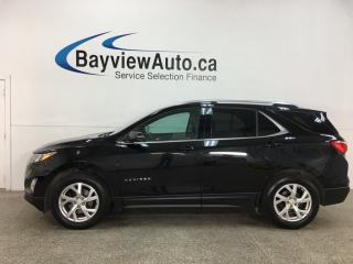 Used 2019 Chevrolet Equinox - AWD! 2.0L TURBO! PANOROOF! NAV! ALLOYS! & MORE! for sale in Belleville, ON