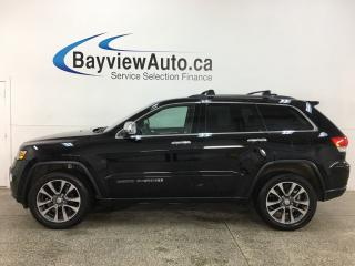 Used 2018 Jeep Grand Cherokee Limited - 4X4! HTD LTHR! NAV! MOONROOF! ONLY 20,000KMS! for sale in Belleville, ON