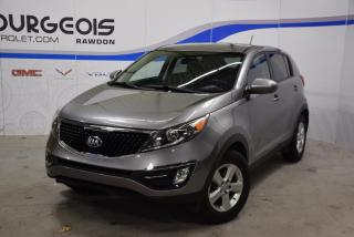 Used 2016 Kia Sportage FWD LX *** TRÈS PROPRE !! TRANS. MANUELLE *** for sale in Rawdon, QC