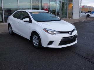Used 2016 Toyota Corolla for sale in Trois-Rivières, QC