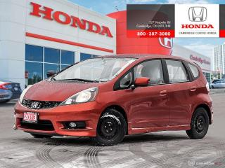 Used 2013 Honda Fit Sport for sale in Cambridge, ON