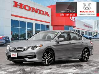 Used 2017 Honda Accord Sport REARVIEW CAMERA WITH GUIDELINES | HEATED SEATS | APPLE CARPLAY™ & ANDROID AUTO™ for sale in Cambridge, ON