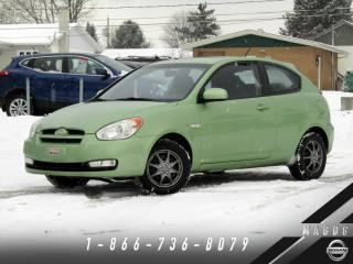 Used 2010 Hyundai Accent GL + SPORT + TOIT + BAS KILO! for sale in Magog, QC