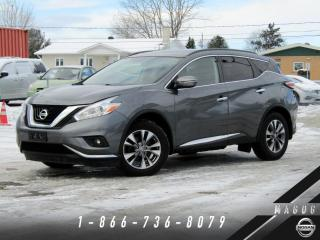 Used 2017 Nissan Murano SV AWD + TOIT + CAMÉRA + NAV + A/C! for sale in Magog, QC