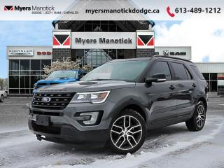 Used 2016 Ford Explorer Sport  - Leather Seats -  Navigation - $230 B/W for sale in Ottawa, ON