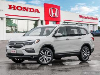 Used 2018 Honda Pilot Touring One Owner, Accident Free Loaded Pilot! Honda Certified Powertrain Warranty Until 05/15/2025 or 160,0 for sale in Waterloo, ON