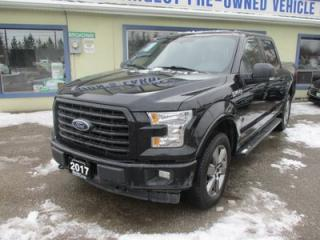 Used 2017 Ford F-150 LOADED XLT - SPORT EDITION 5 PASSENGER 5.0L - V8.. 4X4.. CREW.. SHORTY.. NAVIGATION.. HEATED SEATS.. POWER PEDALS.. BACK-UP CAMERA.. BLUETOOTH.. for sale in Bradford, ON