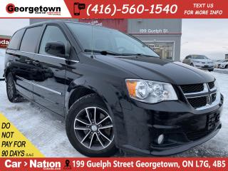Used 2016 Dodge Grand Caravan CREW PLUS | LEATHER | DVD | PWR DOORS | B/U CAM for sale in Georgetown, ON