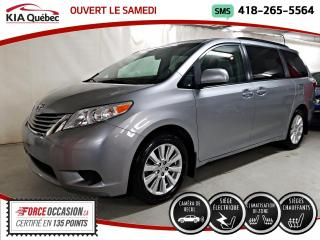 Used 2017 Toyota Sienna LE* AWD* PORTES ELECTRIQUES* SIEGES CHAU for sale in Québec, QC