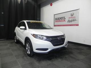 Used 2017 Honda HR-V LX AWD BALANCE DE GARANTIE GLOBALE JUSQU'AU 01/19/2024 OU 130 000KM for sale in St-Eustache, QC