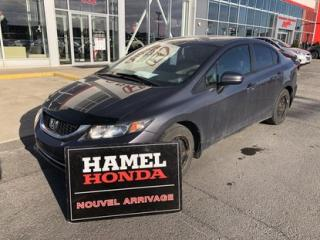 Used 2014 Honda Civic LX ECONOMIQUE !!! for sale in St-Eustache, QC