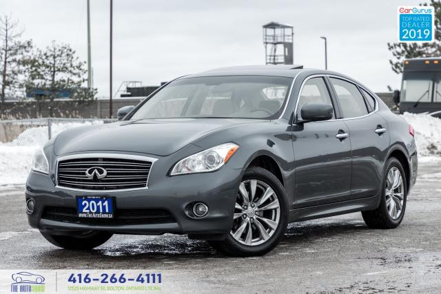 2011 Infiniti M37 AWD NaviRCam Certified NewTires Serviced Financing