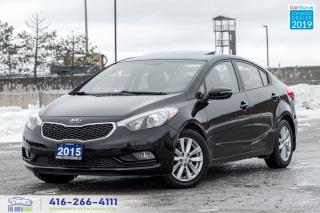 Used 2015 Kia Forte Sunroof Clean Carfax Certified Serviced We Finance for sale in Bolton, ON