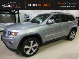 Used 2015 Jeep Grand Cherokee Limited LIMITED| NAVI| SUNROOF| 4X4| 20