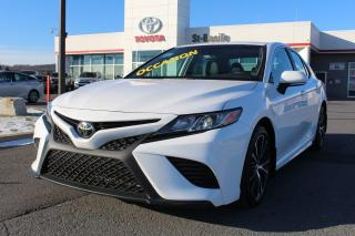 Used 2019 Toyota Camry SE AMELIORE MAGS TOIT CUIR SIEGES CHAUFFANTS for sale in St-Basile-le-Grand, QC