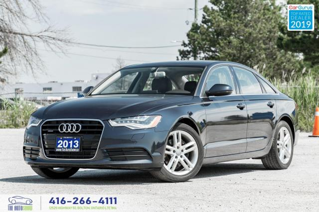 2013 Audi A6 Clean Carfax|AWD|Leather|2.0T|Navi|Backup Camera