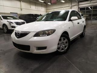 Used 2008 Mazda MAZDA3 MANUELLE/AIR/GROUPE ELECTRIQUE/TELEDEVEROUILLAGE for sale in Blainville, QC