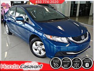 Used 2014 Honda Civic LX AUTO - À VOIR! for sale in St-Hyacinthe, QC