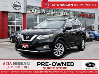 Used 2020 Nissan Rogue SV AWD   Remote Start   Fogs   Apple Carplay for sale in Richmond Hill, ON