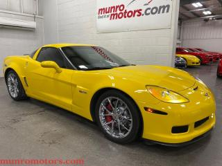 Used 2009 Chevrolet Corvette 2dr Cpe Z06 w-3LZ 6 spd HUD leather dash two tone for sale in St. George Brant, ON