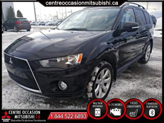 Used 2013 Mitsubishi Outlander AWC V6 7 PASSAGERS TOIT OUVRANT MAGS 18 for sale in St-Jérôme, QC