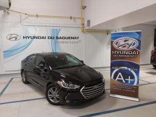 Used 2017 Hyundai Elantra GL/MAGS/VOLANT CHAUFFANT/SIÈGES CHAUFFAN for sale in Jonquière, QC