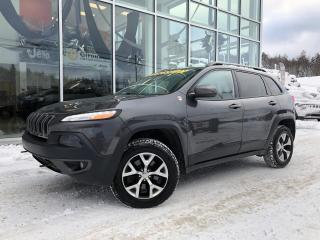 Used 2015 Jeep Cherokee TRAILHAWK V6 78$/sem 2015 for sale in Ste-Agathe-des-Monts, QC
