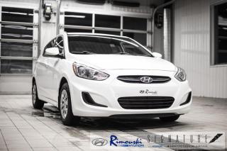 Used 2016 Hyundai Accent L chez  Rimouski Hyundai for sale in Rimouski, QC