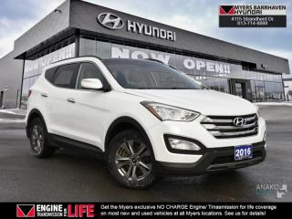 Used 2016 Hyundai Santa Fe Sport 2.4 Luxury  ONE OWNER! for sale in Nepean, ON
