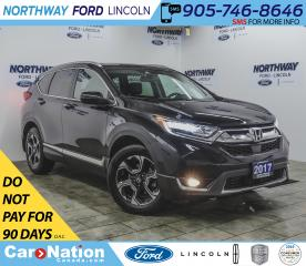 Used 2017 Honda CR-V Touring | AWD | NAV | HTD LEATHER | PANOROOF | for sale in Brantford, ON