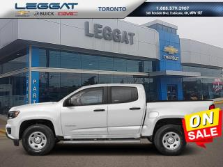New 2020 Chevrolet Colorado 2WD Work Truck  - 7 DAY OR 250 KM EXCHANGE PROGRAM for sale in Etobicoke, ON