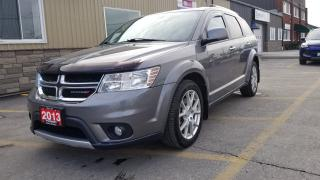 Used 2013 Dodge Journey R/T AWD-NAV-LEATHER-REAR CAMERA-REMOTE START for sale in Tilbury, ON