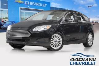 Used 2018 Ford Focus ÉLECTRIQUE cuir sièges chauffants a-c bluetooth for sale in Laval, QC