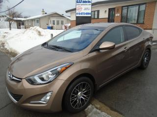 Used 2016 Hyundai Elantra GLS for sale in Ancienne Lorette, QC