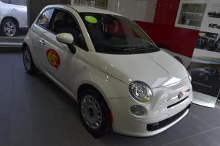 Used 2017 Fiat 500 POP Hatch for sale in St-Hyacinthe, QC