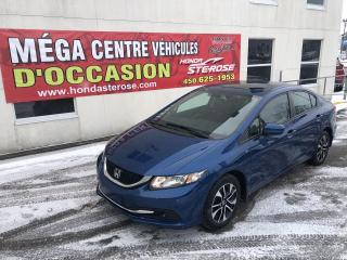 Used 2015 Honda Civic EX AUTOMATIQUE for sale in Laval, QC