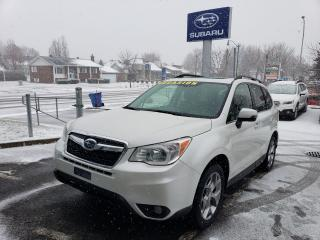 Used 2015 Subaru Forester LIMITED CUIR GPS TOIT PANORAMIQUE AWD for sale in Repentigny, QC
