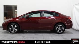 Used 2015 Honda Civic LX + SIEGES CHAUFFANTS + BLUETOOTH + CAM for sale in Trois-Rivières, QC